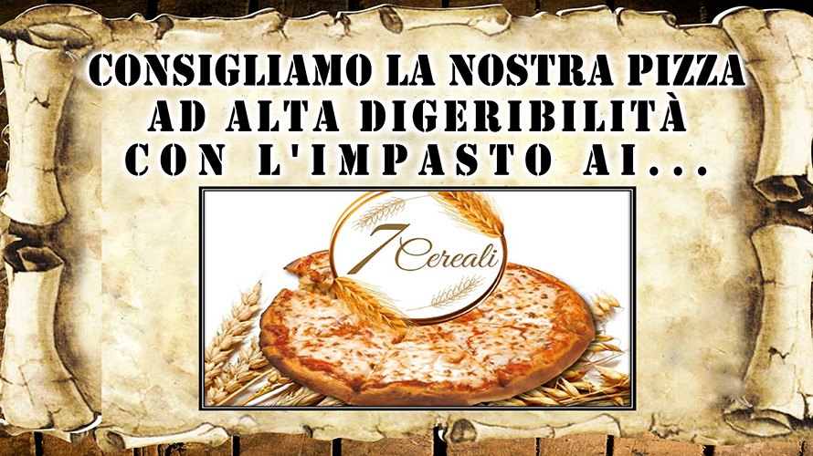 Pizza ai 7 cereali
